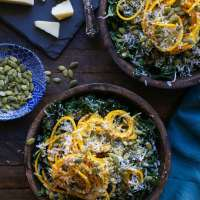 Golden Beet & Kale Salad