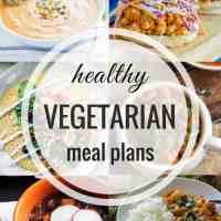 Healthy Vegetarian Meal Plan 09.24.2017