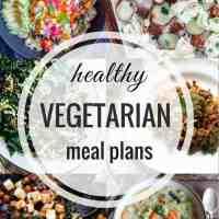 Healthy Vegetarian Meal Plan 02.25.2018