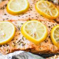 How to Grill Salmon in Foil
