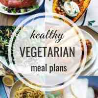 Healthy Vegetarian Meal Plan 12.09.18