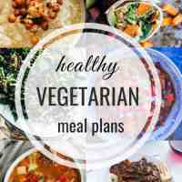 Healthy Vegetarian Meal Plan 12.16.2018