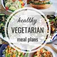 Healthy Vegetarian Meal Plan 06.16.2019