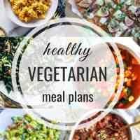 Healthy Vegetarian Meal Plan 09.15.2019