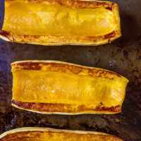 How to Roast Delicata Squash