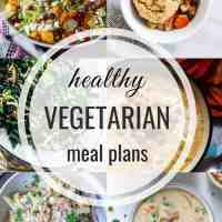 Healthy Vegetarian Meal Plan 12.15.2019