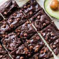 Flourless Avocado Brownies (Paleo)