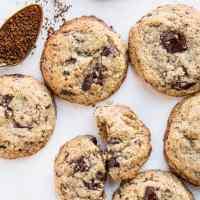 Paleo Espresso Chocolate Chunk Cookies