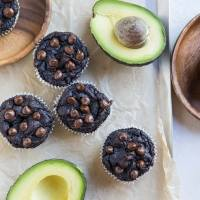 Avocado Chocolate Muffins (Paleo)