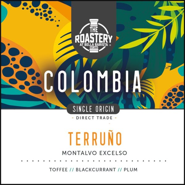 Colombia Organic Terruno Roast Coffee Single Origin