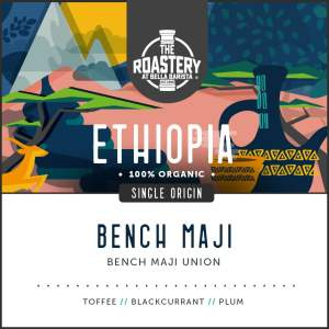 Ethiopia Bench Maji - Organic Arabica Coffee