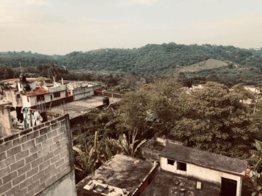 Rooftops in Mexico