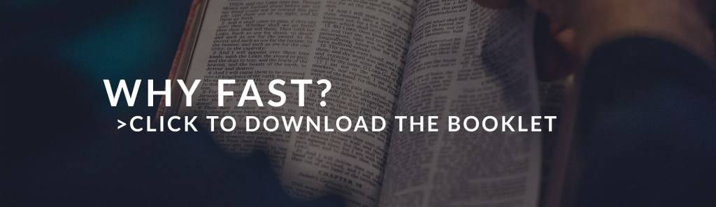 Why Fast? Click to download the booklet