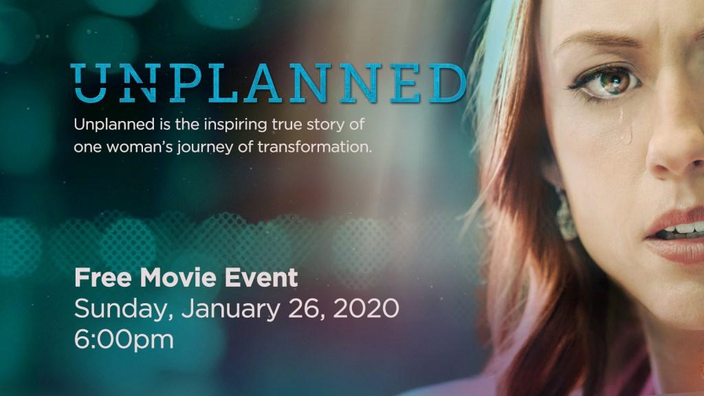 UNPLANNED Movie Event