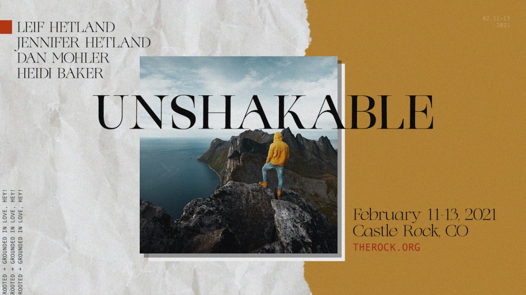 Unshakable Conference