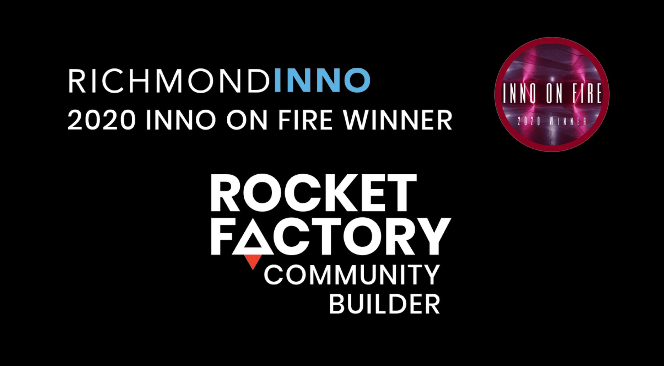 SparkJam Inno on Fire Award