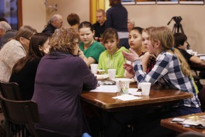 Give youth a voice visioning session in 2013.