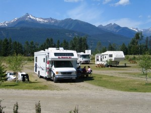 Irvin's RV park British Columbia RV West magazine award winner