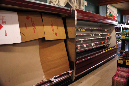 IGA recovers from fire