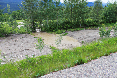 leona creek mud slide mudslide valemount tete jaune mcbride robson dunster valley newspaper
