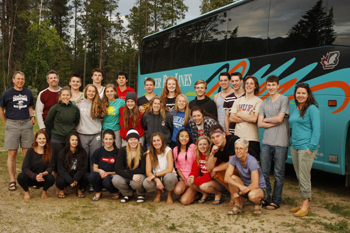 Alberta floods give Manitoba high schoolers lucky detour to Robson Valley