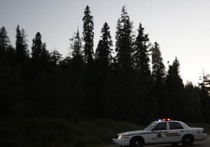police emergency highway crash