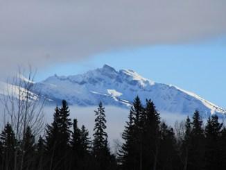 rockies, rocky mountains, peak, snow peak, mountain peak, canoe valley, canoe valley campground