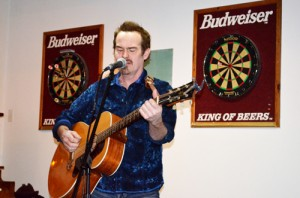 sean hogan, legion, open mic, karaoke, guitar, music, musician, sing, singing
