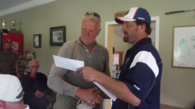 Greg and Teun Hendriks Valemount golf tourney