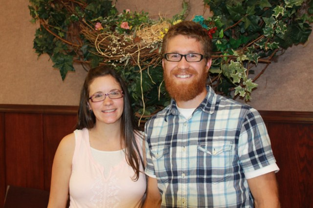 Pastor Stewart Reimer and his wife Charisa