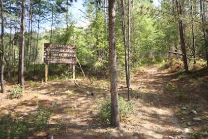 Mt Terry Fox Trail trailhead sign Logging (9)
