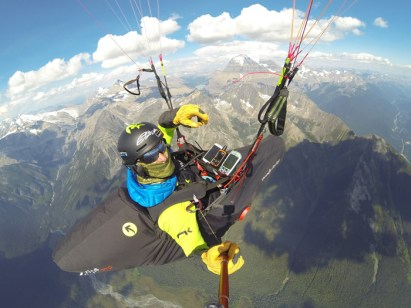 Gavin McClurg Paragliding Mt. Robson