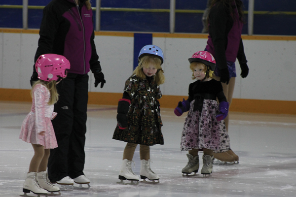 I'll take a holiday on ice, please
