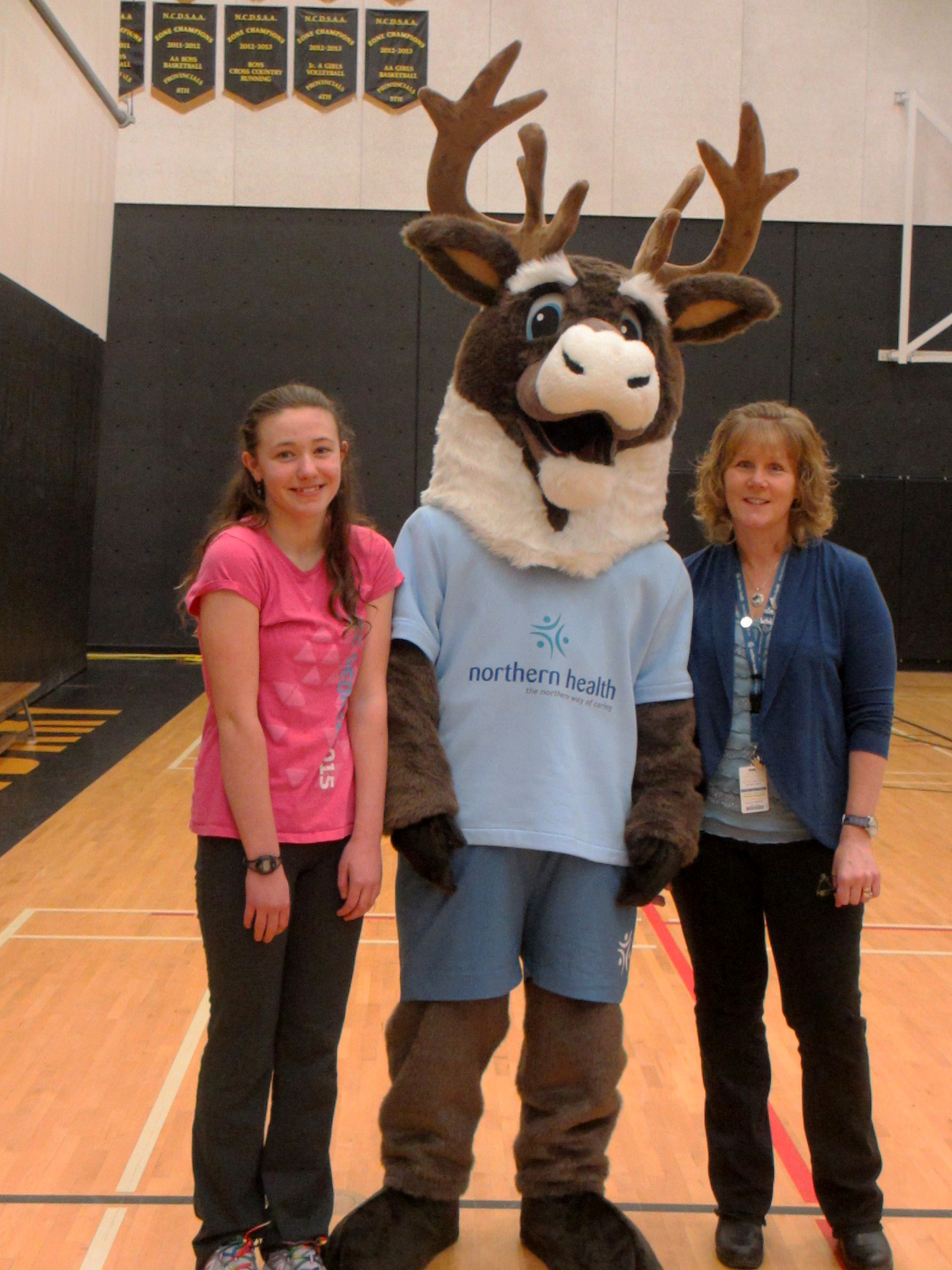 Northern Health Mascot BC