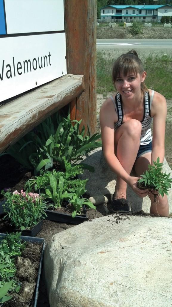 Dani Hystad valemount secondary garden classaa