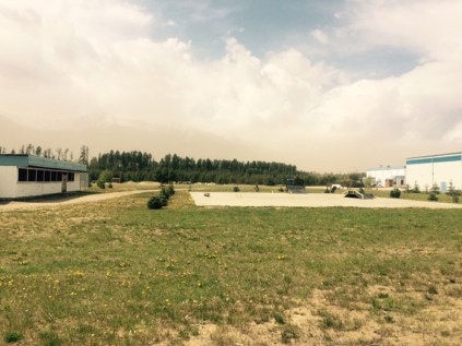 view of westridge and dust