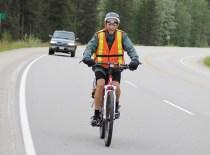 Vern Pawloske bike hike 200km 2015