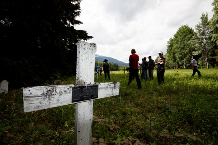 Tete Jaune cemetery passes another hurdle