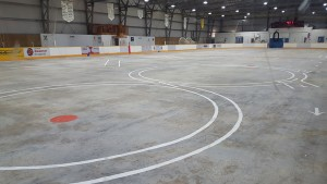 Arena without ice