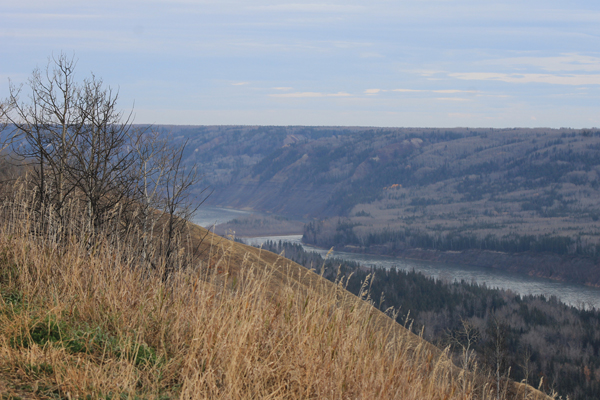 Site C protest oct 2015 peace river (4)