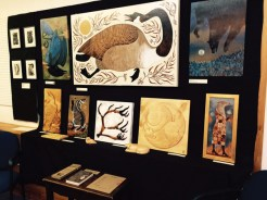 Marias bookfair alison kubbos art valemount 2015 (1)