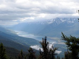 Photo: Evan Matthews A view of the Kinbasket Reservoir from roughly 300 metres, on the McKirdy Meadow Trail.