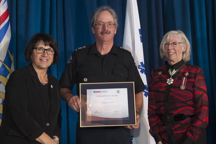 Long serving McBride paramedic recognized