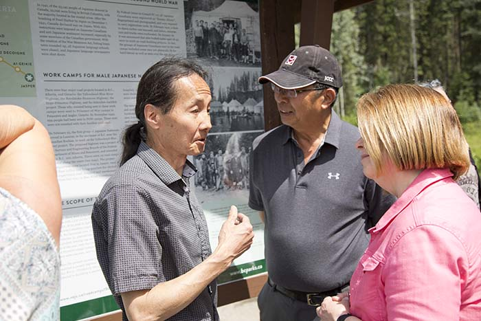 Japanese internment camps in B.C. remembered by descendants of internees