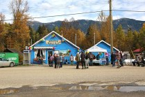 Folks gathered to celebrate one the most important institutions in the Valley, the Dunster General Store. It turned 100 years old a week ago. / ANDRU MCCRACKEN