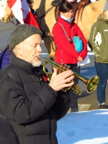 Keith Berg played the Last Post