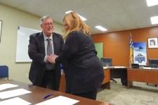 Mayor Runtz swearing in-ED