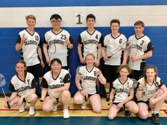 Valemount High Badminton winners