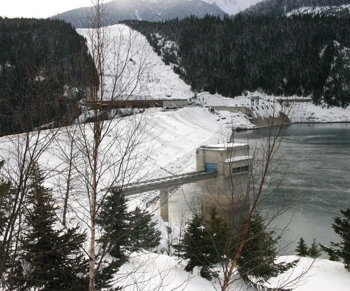 BC Hydro forecasts normal levels at Kinbakset this winter