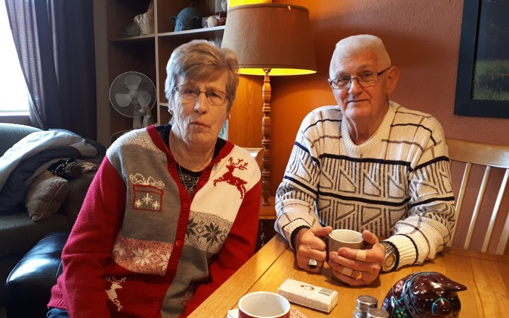 Christmas miracle: Couple OK after scary crash
